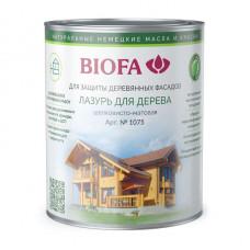 1075 Лазурь для дерева BIOFA 0,125 л цвет в ассортименте
