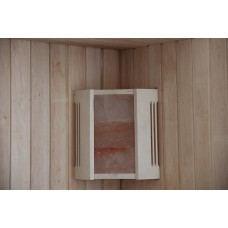 DW Абажур угловой с гималайской солью 3 плитки  АУЕ-3П