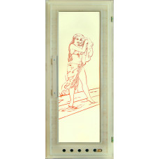 DW Дверь стекл 185х75 Элит с вентиляцией