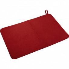Коврик банный 50*40см красный