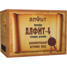 Сбор 'Алфит-4' для профилактики заболеваний щитовидной железы