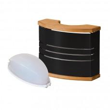 Светильник HARVIA с абажуром SAS 21107 черный