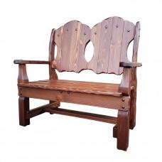 Скамья-кресло Добряк (2-х местное) 1200х620хh1170