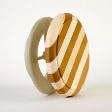 Клапан вентиляционный 212f zebra d=100