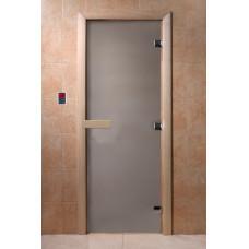 DW Дверь стекл. Сатин 8мм кор.ольха