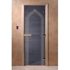 DW Дверь стекл 1900х600  8мм с рисунком