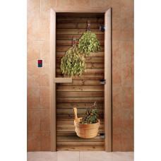 DW Дверь стекл. с Фотопечатью 8мм кор ольха по заказу клиента
