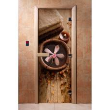 DW Дверь стекл 2000х800  8мм с Фотопечатью