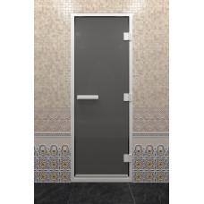DW Дверь стекл для хамама Черный жемчуг 8мм
