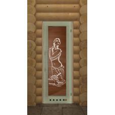 DW Дверь деревян полотно Липа Элит