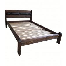 Кровать 'Русич 1' с мягкой вставкой