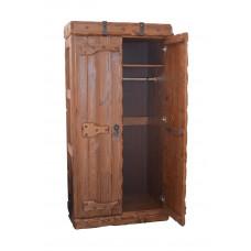 Шкаф платяной Добрыня с двумя створками 1000х600хh2000