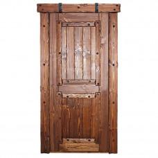 Элементы ковки на дверную раскладку Добряк (2 скобы+4 гвоздя)