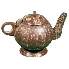 Чайник заварочный, кокос, h12 d12 см