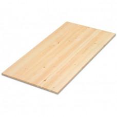 Мебельный щит цельный Лиственница 40х600х1500 (Экстра) односторонний