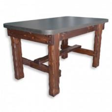 Стол Медведь (гладкая столешница, ЛДСП) 1400х800хh780