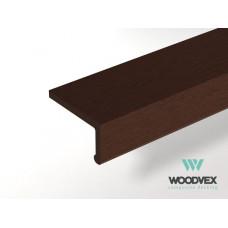 Для ДПК Уголок внешний для доски WV Classik шовн. 62х37х2000