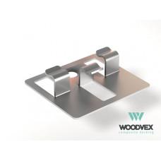 Для ДПК Кляймер для доски  WV Classik шовн.150х20
