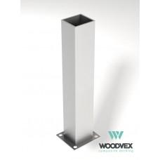 Для ДПК Стакан монтажный металл WV 120х120