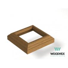 ДПК Крышка нижняя для столба WV Select 140х140 мм