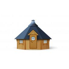 Гриль-домик шестигранный