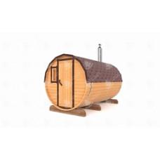 Комплект для бани-бочки Стандарт (кедр) 3,5 м,  2 отделения