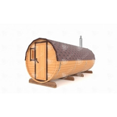 Комплект для бани-бочки Стандарт (кедр) 5,5м, 3 отделения
