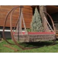 Подвесной гамак качели МАРРАКЕШ для двоих (подушка в комплекте, без каркаса)