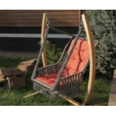 Подвесное кресло качели ИНКА (подушка в комплекте, без каркаса)