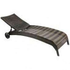 Лежак MONACO темно-коричневый