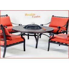 Садовая мебель патио 'ФУДЗИ' стол с барбекю на четыре персоны