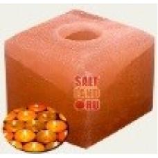 Подсвечник куб