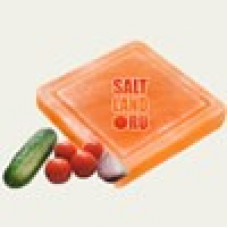 Доска разделочная 200х200х38 для нарезки салатов