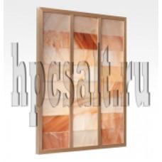 Соляная стена скрытый монтаж плитка 10х20х2,5 см