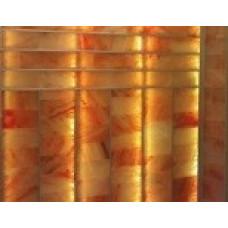 Соляная стена, шлифованная плитка, открытый монтаж  1,5 см