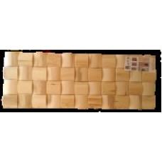 Панели 3Д Липа Текстурированная 360x980 мм