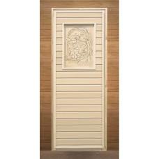 LK Дверь липа глухая  с рисунком