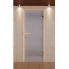 ALDO SM Дверь для сауны стекл. 690х1890 Сатин кор.хвоя
