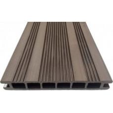 ДПК Террас.доска Ecodeck шовн. 23,5х162х3000 венге/коричнев
