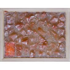 Панно из Гималайск.соли в рамке