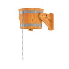 Устройство обливное 22 л лиственница натуральная