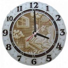 Часы резные ЧРГ-2