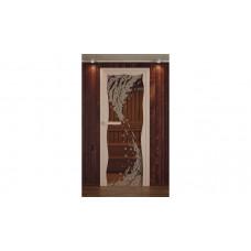 ALDO Дверь стекл. рис.Волна с фьюз.