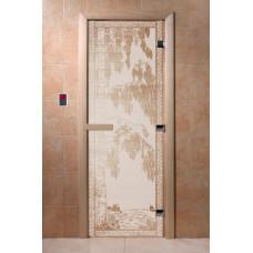 DW Дверь стекл 1800х700  8мм с рисунком