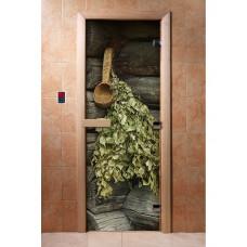 DW Дверь стекл 1900х600  8мм с Фотопечатью