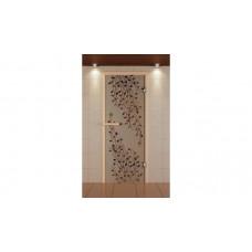 ALDO Дверь стекл. рис.Береза с фьюз.