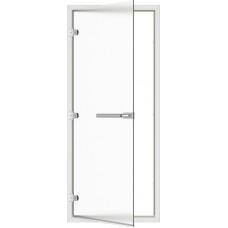 SAWO Дверь стеклянная для хамама с порогом 3 петли