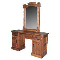 Трюмо 'Барыня' (зеркало,3 ящика, ящик+дверь) 1400х450хh760