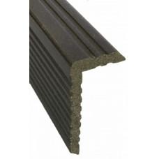 Для ДПК Уголок для Holzhof внутренний коричневый 25х65х3000