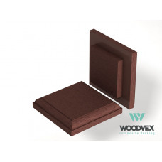 ДПК Крышка верхняя для столба WV Select 125x125 мм  цвета в ассортименте